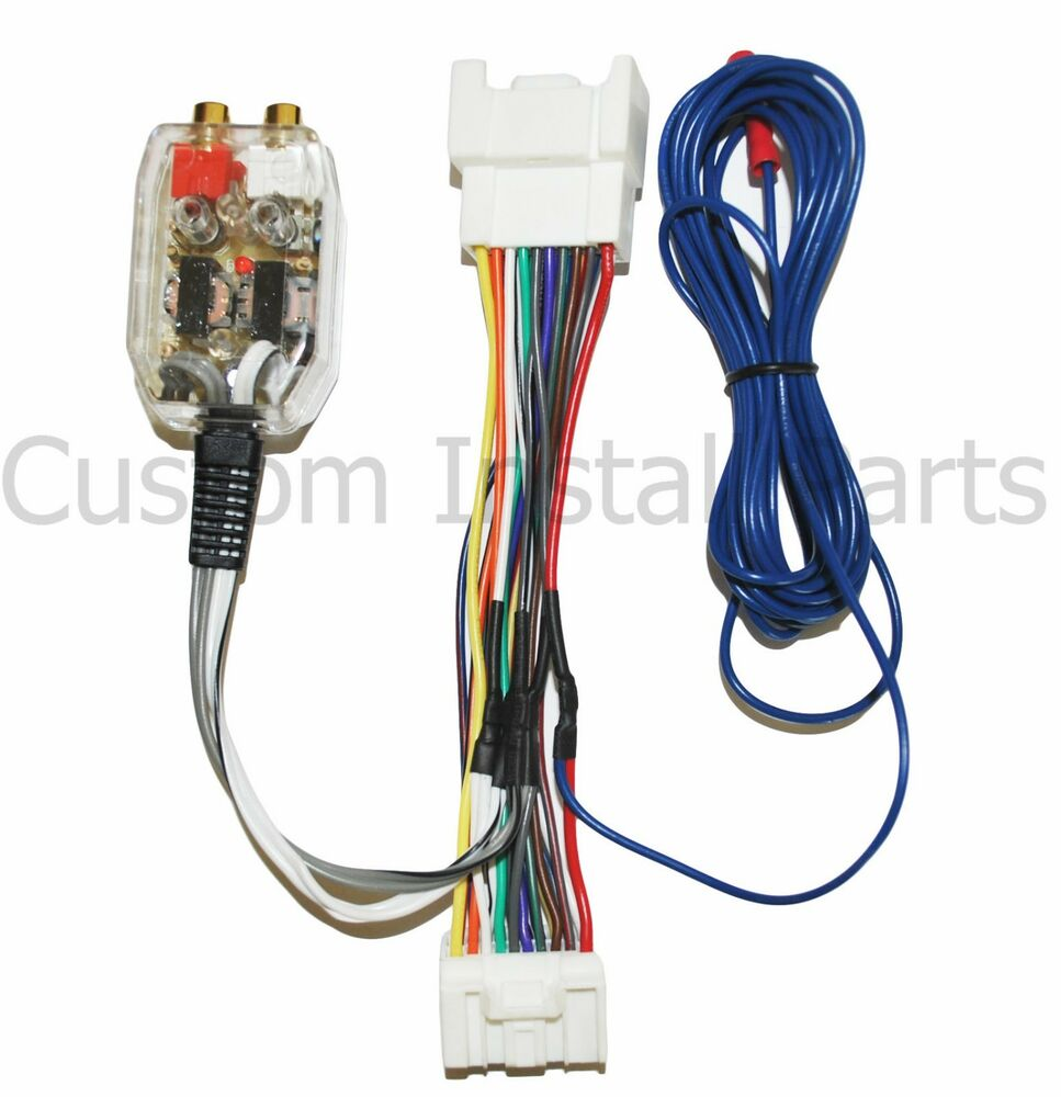 mitsubishi add amplifier amp interface adapter wiring wire. Black Bedroom Furniture Sets. Home Design Ideas