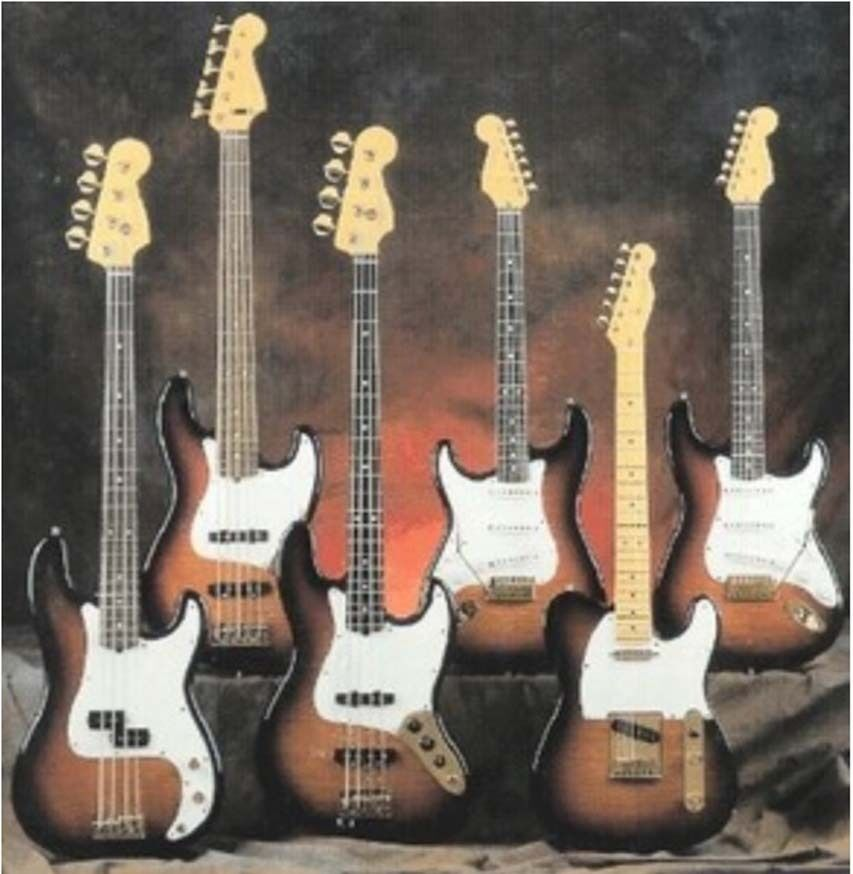 fender guitar manuals parts bass wiring diagram amps schematics electronics cd ebay. Black Bedroom Furniture Sets. Home Design Ideas