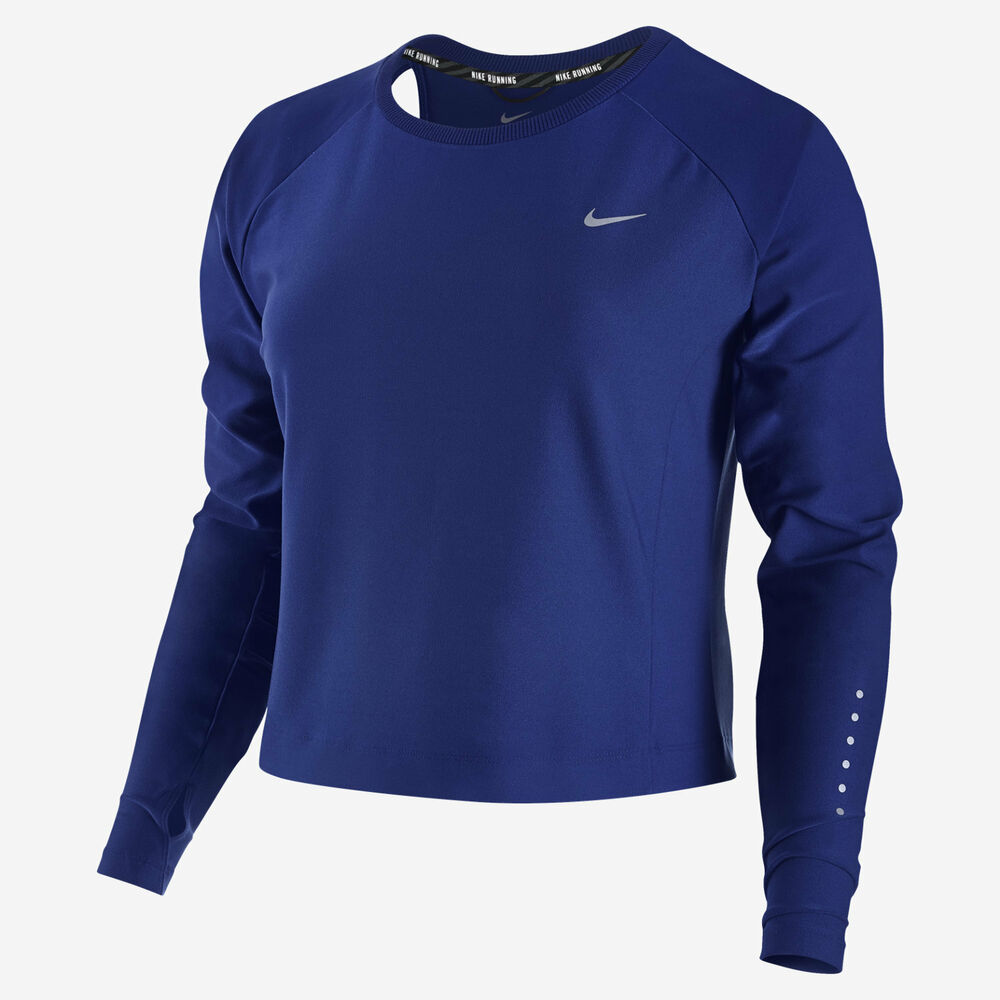 Details about Nike 719493 Women s  80 Run Free Long Sleeve Top Training  Crop Crew Shirt Jacket fd933e9207