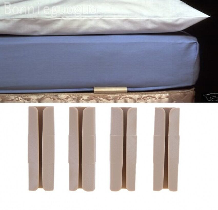 8pcs Bed Sheet Mattress Blankets Elastic Holder Fastener