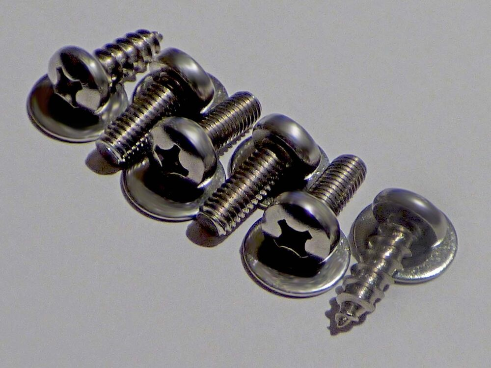 4 Metric License Plate Stainless Bolts For Imports 2