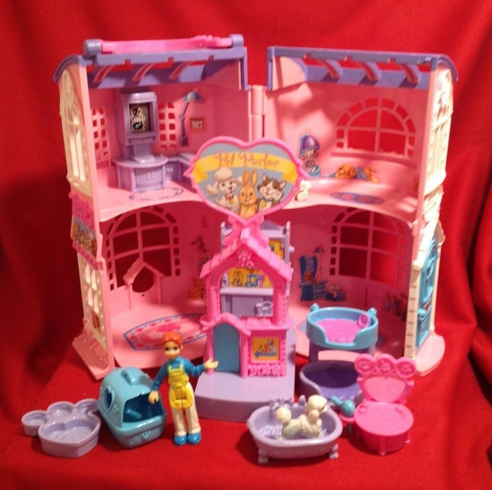 Sweet streets loving family fisher price pet parlor house for A family pet salon