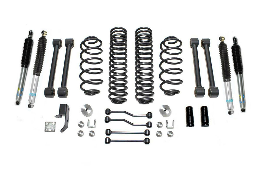 jeep wrangler tj 4 u0026quot  lift kit w  bilstein shocks 03