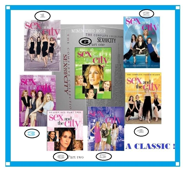 sex in the city complete dvd