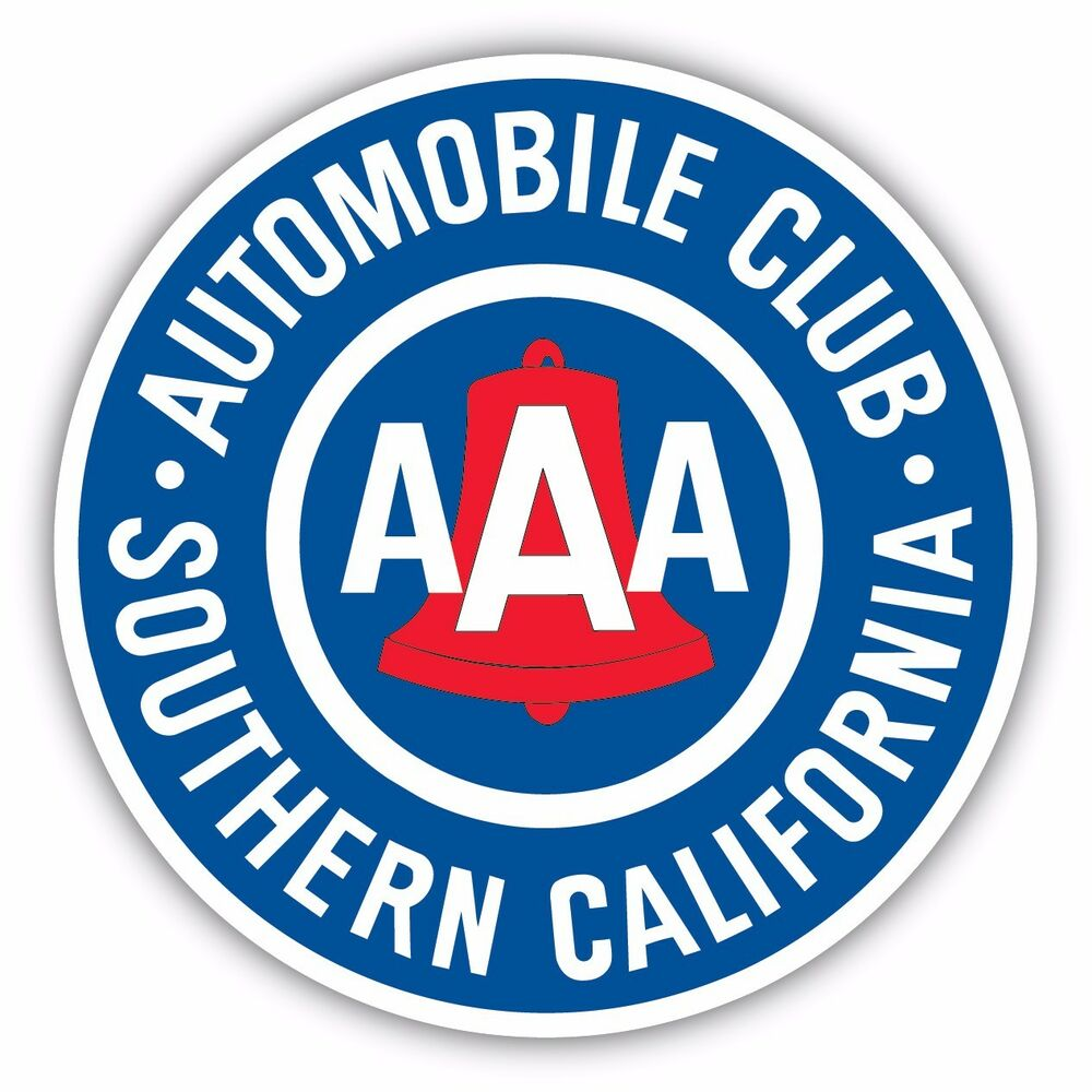 Aaa Southern California Member Automobile Club Decal