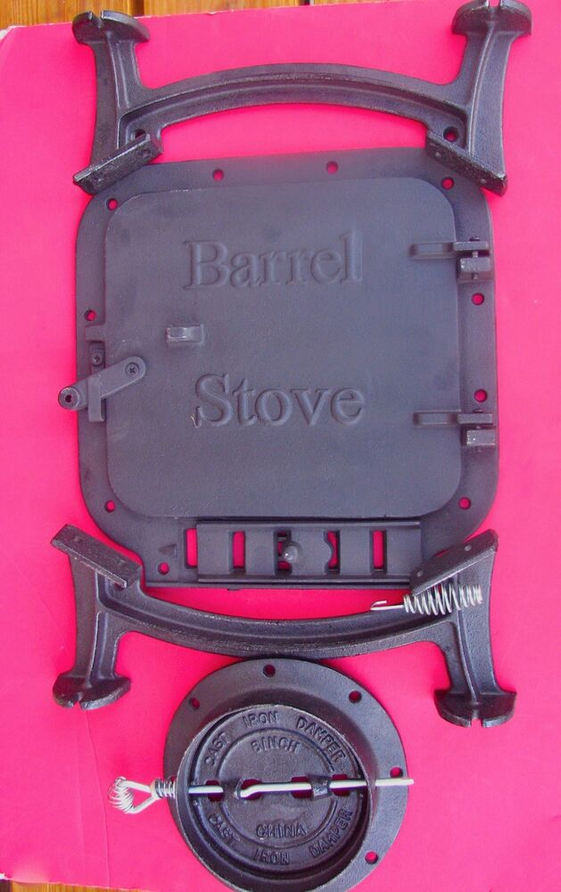 - Barrel Stove Kit Build Your Own Wood Stove W/Gasket Kit EBay