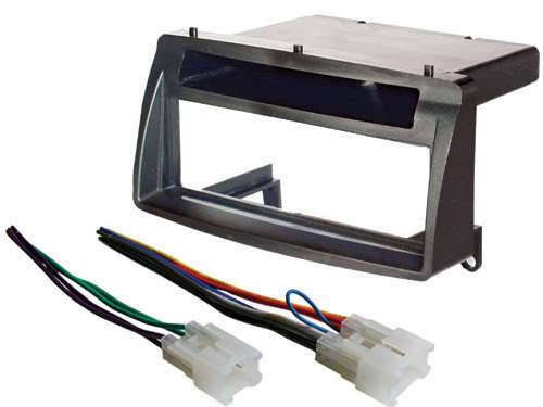 Wiring Harness And Install Kit : Aftermarket stereo radio installation mount dash kit