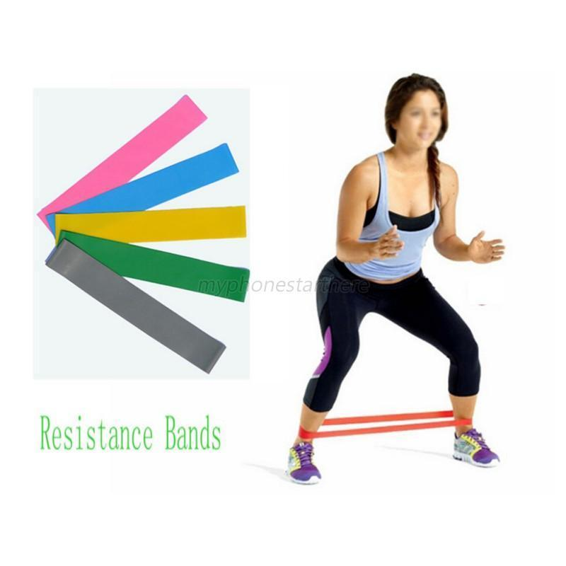 Resistance Band LOOP Exercise Light/Med/Heavy Gym Yoga