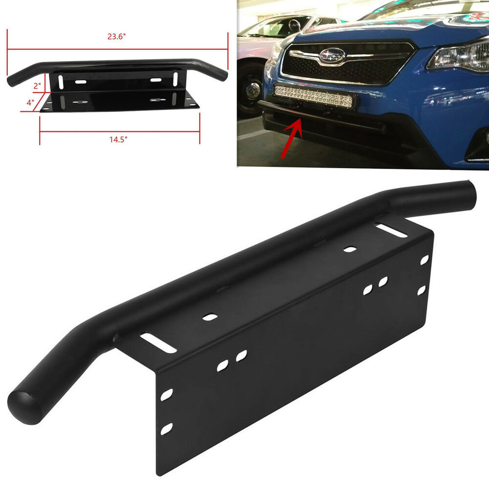 1pc Offroad Light Led Light Bar Front Bumper License Plate