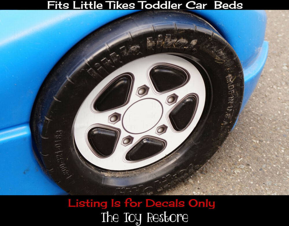 1 Replacement Decal Sticker fits Little Tikes Toddler Car ...