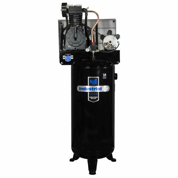 Industrial air 5 hp 60 gallon two stage air compressor for 5hp air compressor motor single phase
