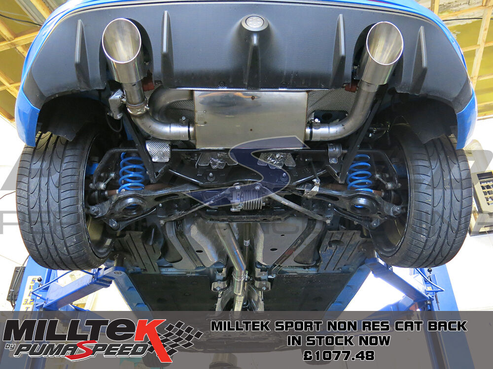 Ford Mustang  L Exhaust Under Car Pic