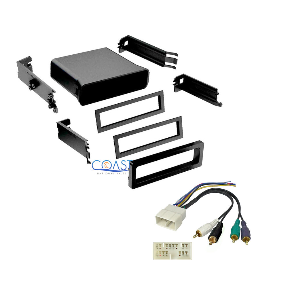 Universal Car Radio Stereo Pocket Dash Kit Wire Harness
