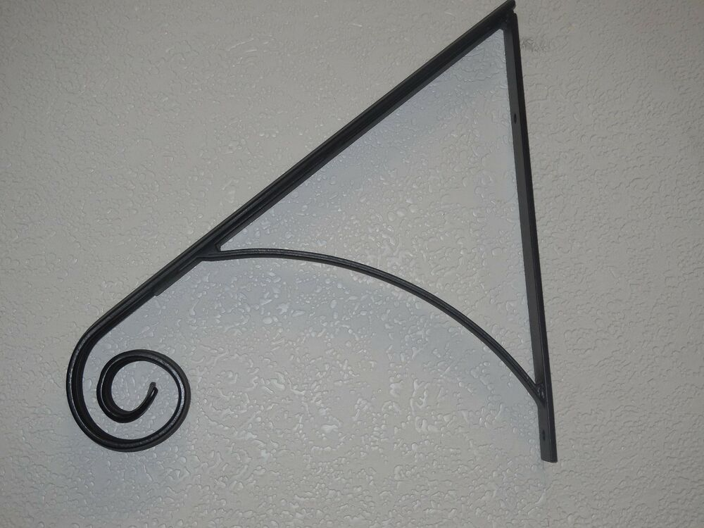 Grab Support Hand Rail Wrought Iron Handrailing Wall Mount
