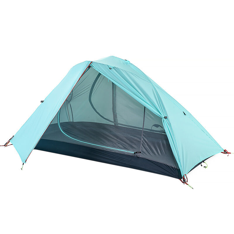Naturehike 1 Person Tent Camping Double Layer Lightweight Tent NH16S012-S210T   eBay