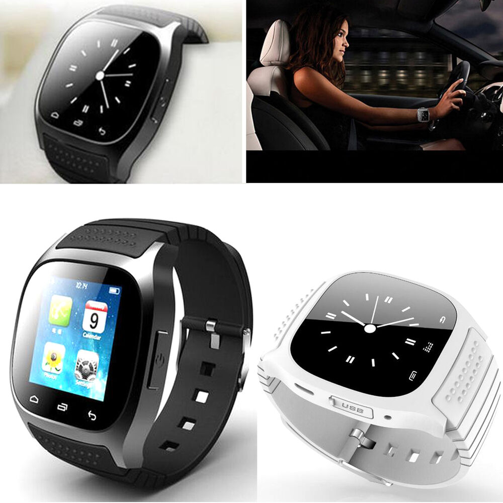 Bluetooth Smart Wrist Watch For Android Samsung Galaxy S7 ...