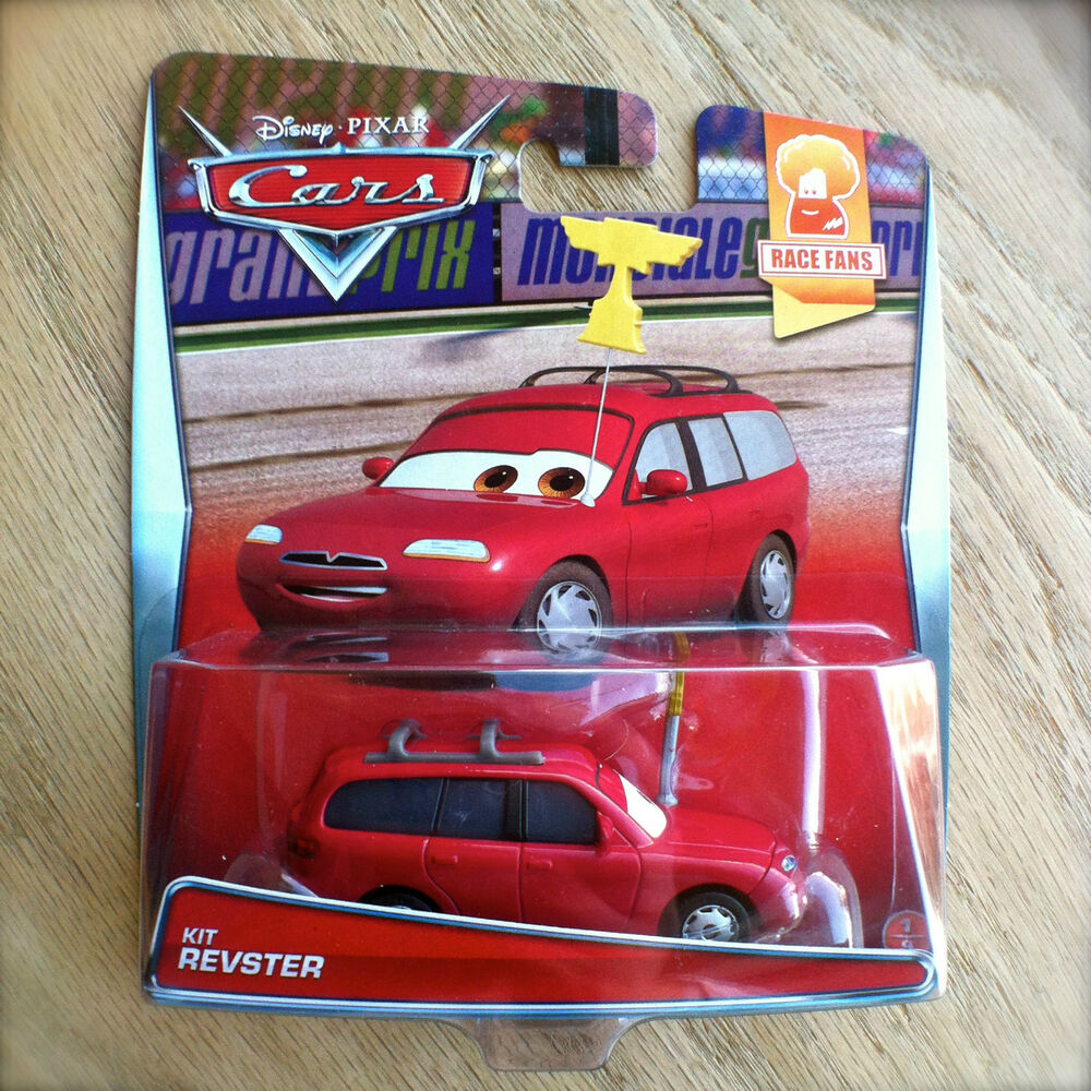 Disney PIXAR Cars KIT REVSTER Diecast NEW! 2015 RACE FANS