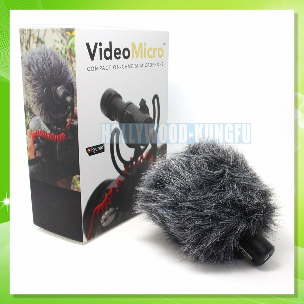 Mic Rode Videomicro Video Micro For Dji Osmo Microphone Adapter Camera