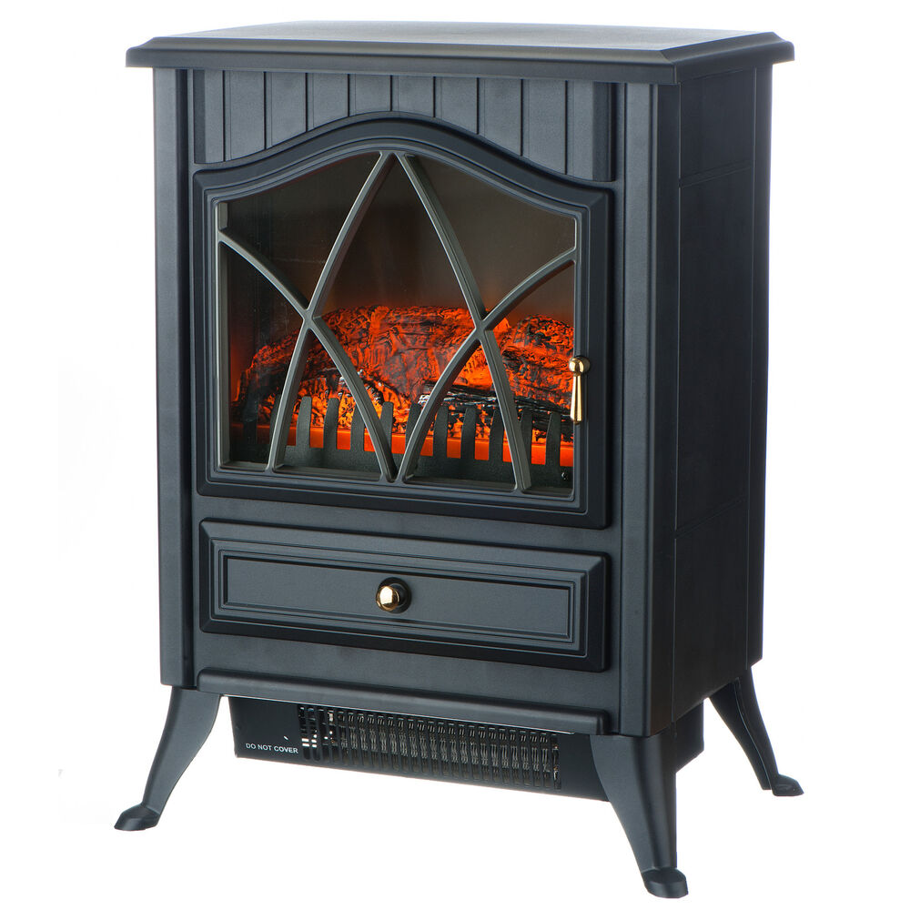 Vonhaus 1800w Portable Electric Stove Heater Fireplace