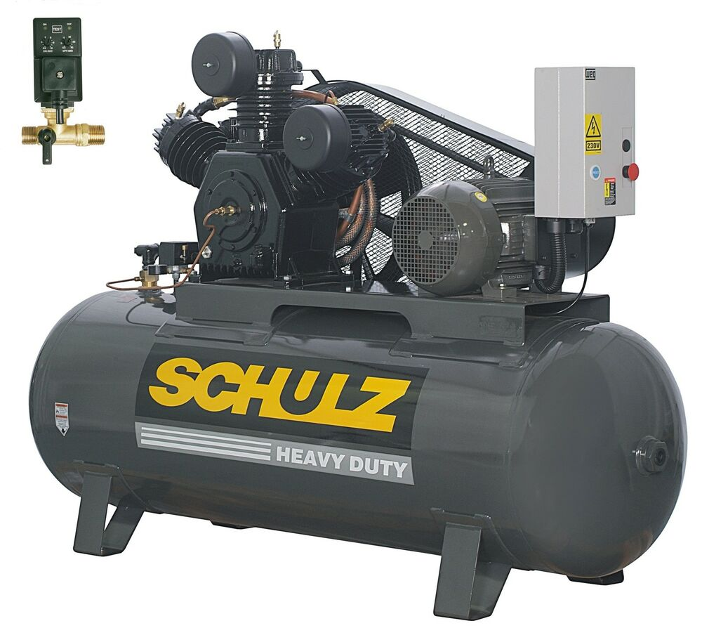 air compressor tank schulz air compressor 10hp 120 gallons horizontal tank 11042