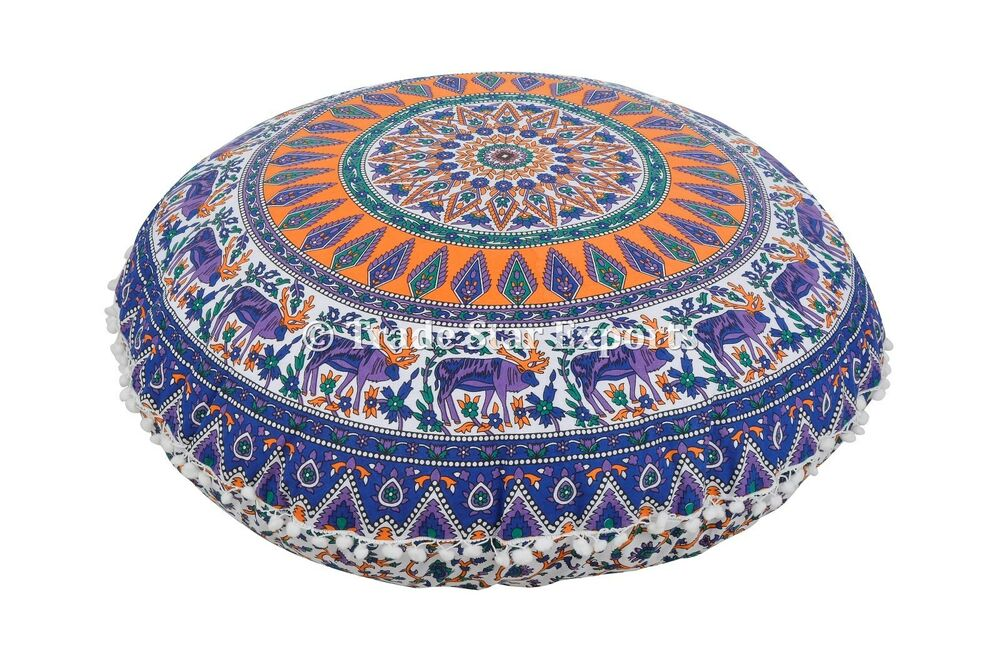 Large Round Decorative Pillow : 32