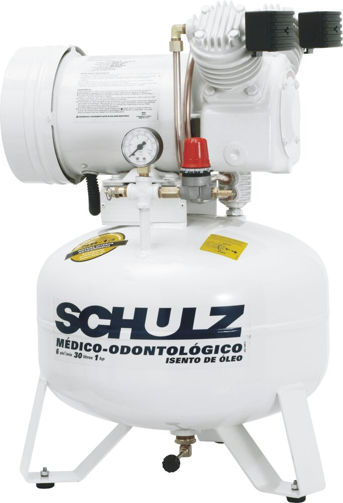 Schulz Air Compressor Oil Free 1hp Dental Medical