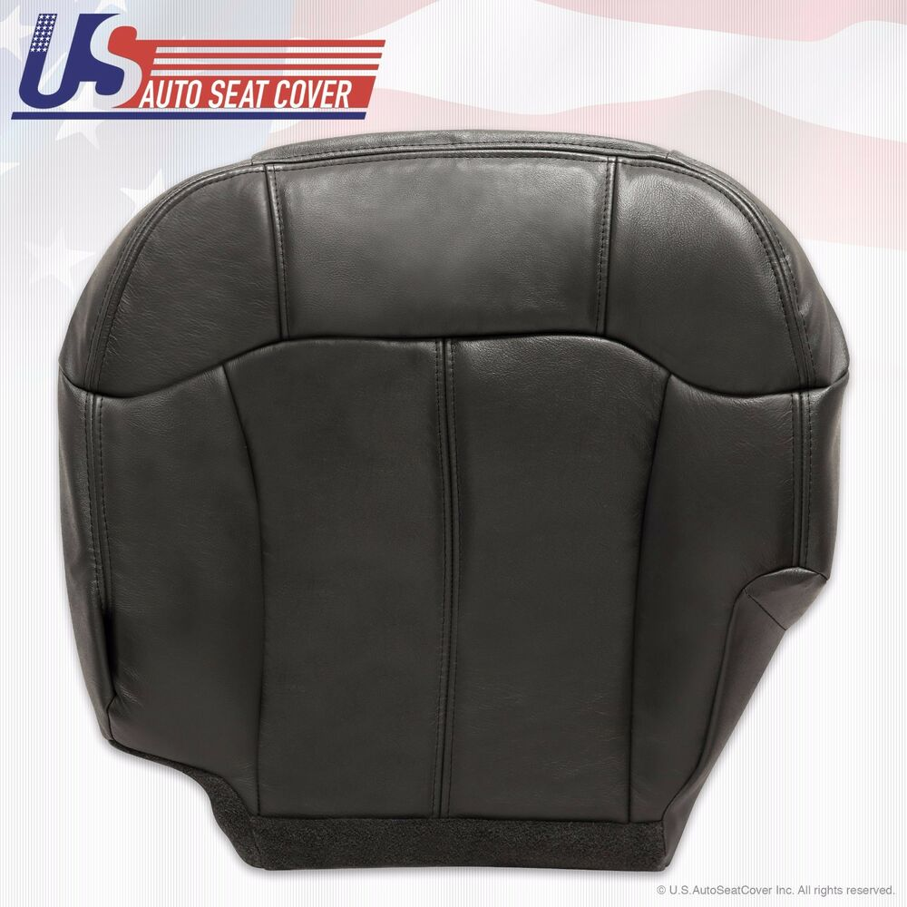1999 2000 2001 2002 Gmc Sierra Driver Bottom Vinyl Seat Cover Gray Graphite 3025960162992 Ebay