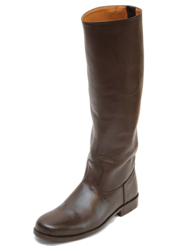Brown Leather Han Solo Style Episode Vii Tfa Boots By