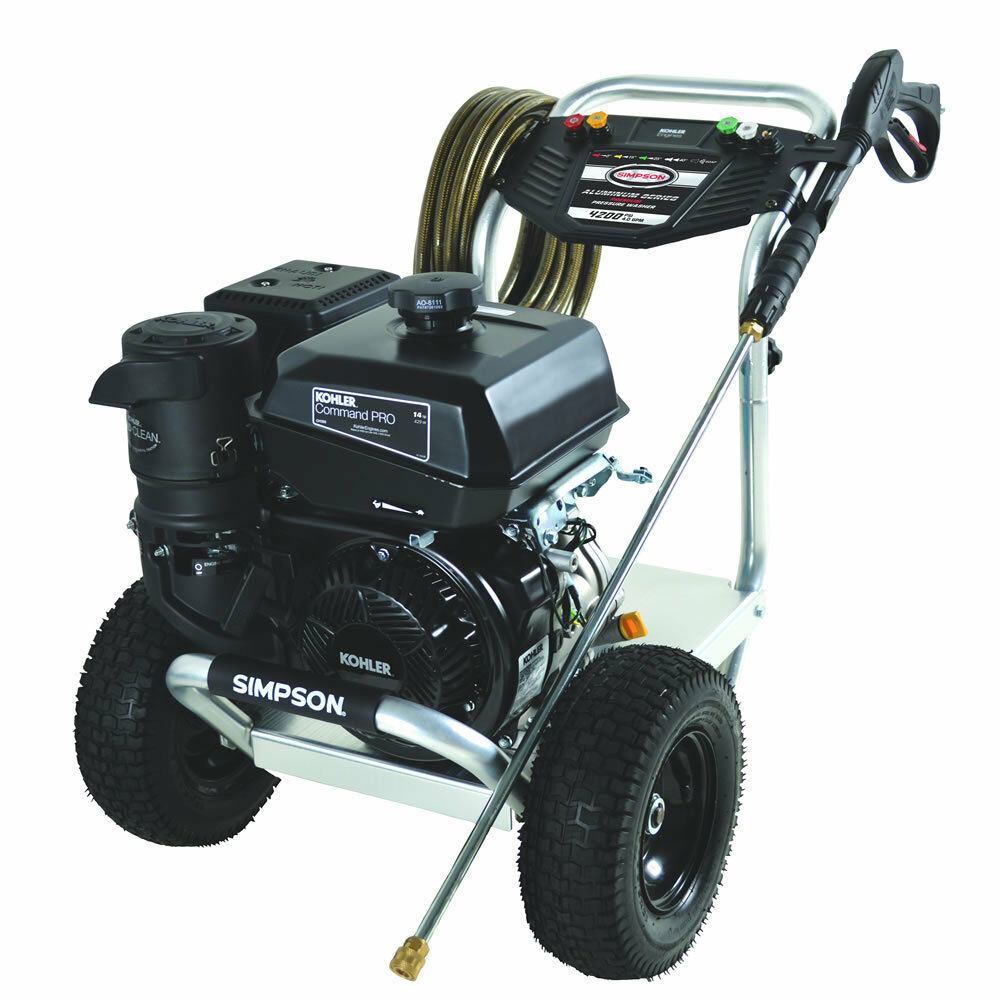 Simpson 4200 PSI (Gas - Cold Water) Aluminum Frame ...