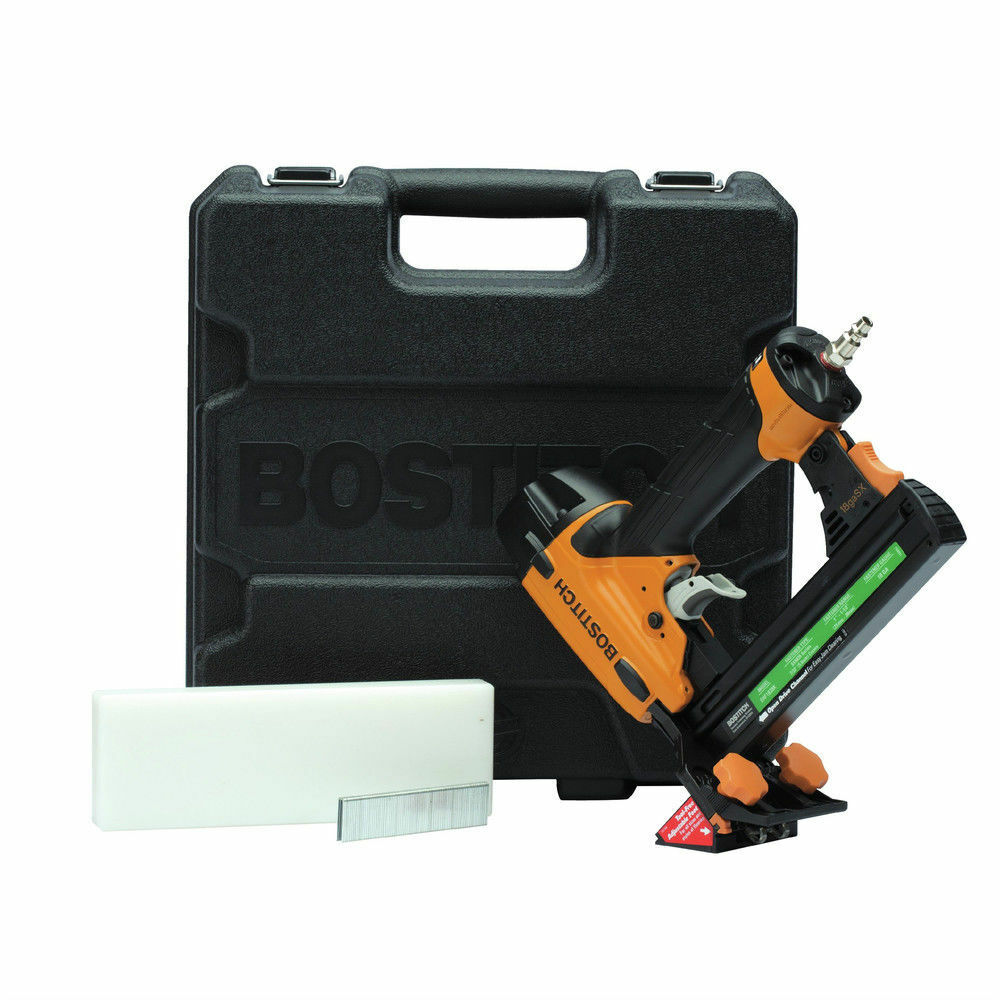 Bostitch 18 Gauge Oil Free Engineered Flooring Stapler