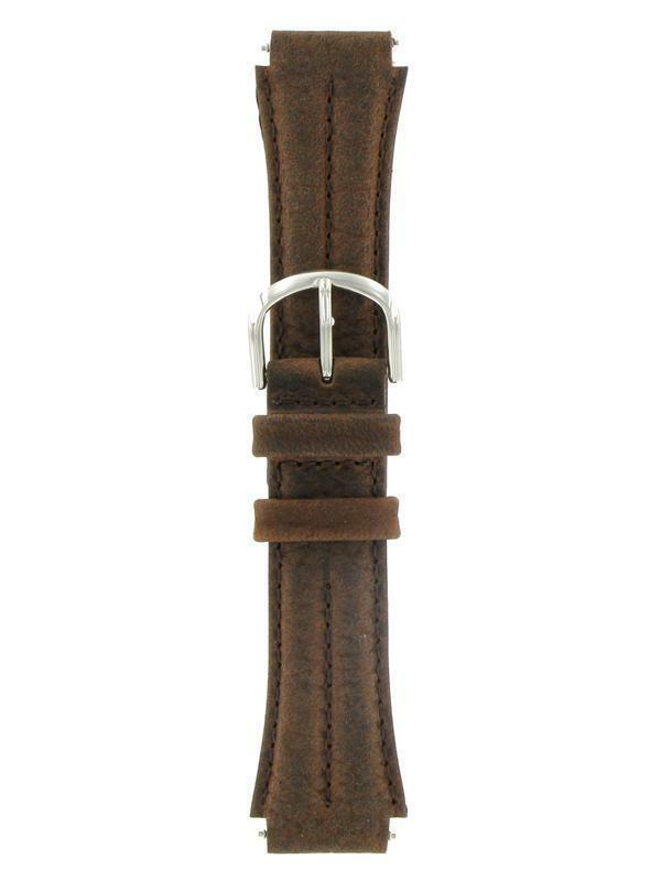 18mm Timex Brown Leather Sport Expedition Watch Band