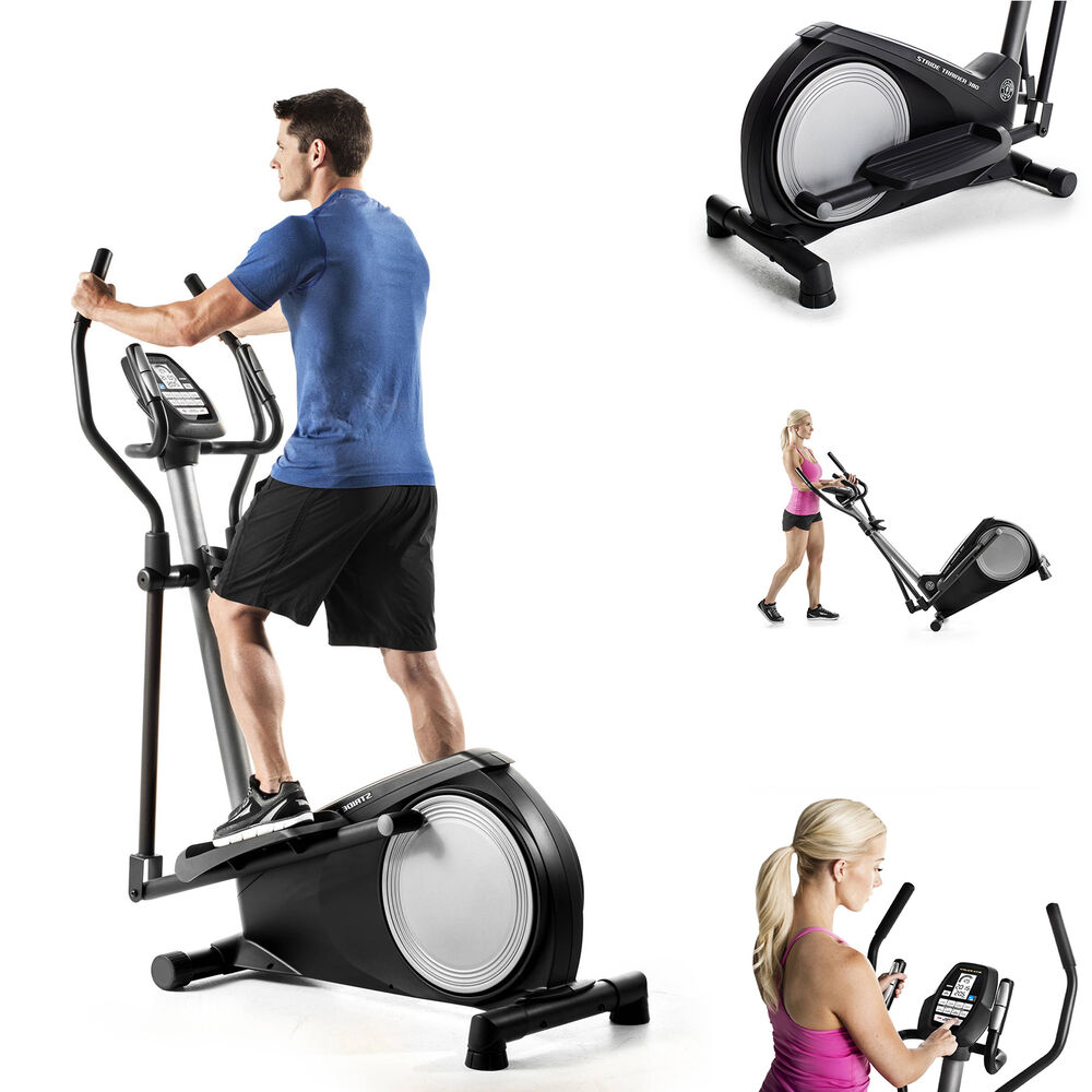 Elliptical Bike Trainer Exercise Fitness Machine Gym