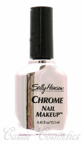 Metallic - Sally Hansen Chrome Nail Polish - Silver ...