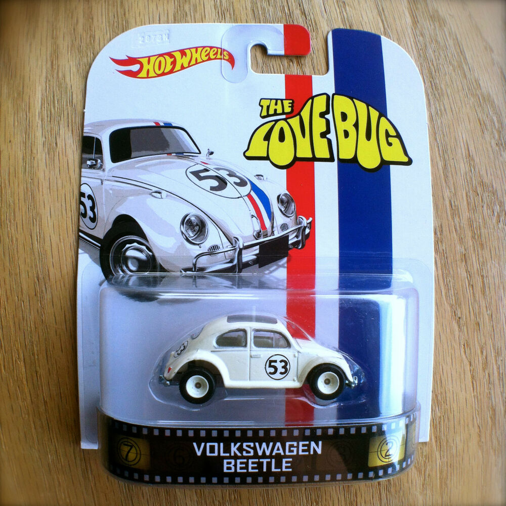 hot wheels  love bug  volkswagen beetle diecast retro entertainment ebay