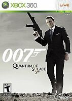 BRAND NEW Sealed James Bond 007: Quantum of Solace (Microsoft Xbox 360, 2008)