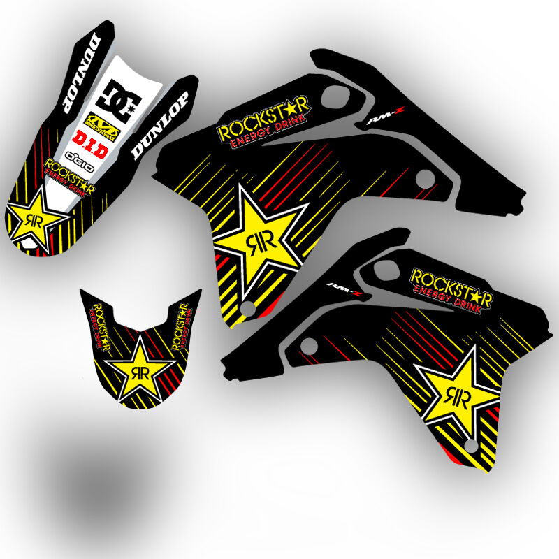 Jr80 graphics kit jr 80 suzuki decals deco stickers all for Stickers murs deco