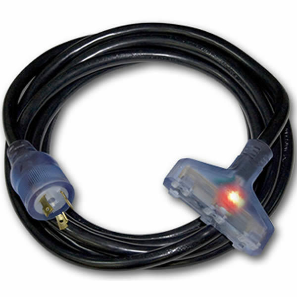 S L on Generator Power Cord 30 Amp 4 Prong