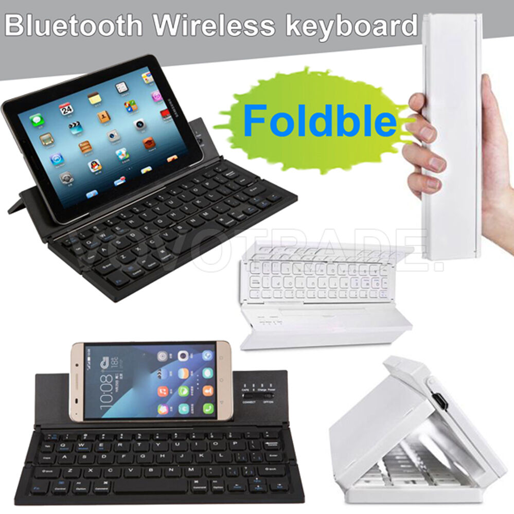Bluetooth Keyboard Mapping Android: Portable Foldable Wireless Bluetooth Keyboard For Windows For Android For IOS
