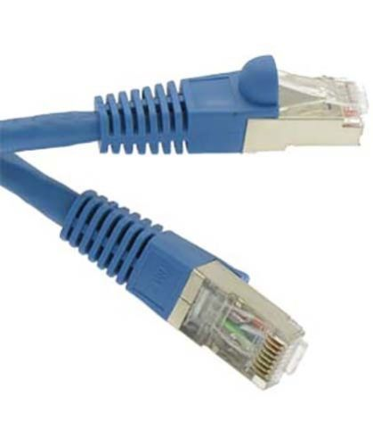 1 Ft Cat7 Double Shielded Sstp Patch Cable 600mhz Copper