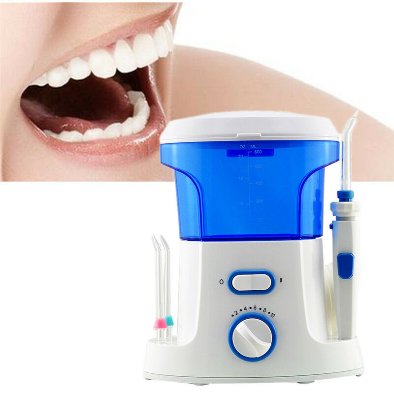 oralcare water dental teeth flosser flossing set tooth clean machine 7 tips c. Black Bedroom Furniture Sets. Home Design Ideas