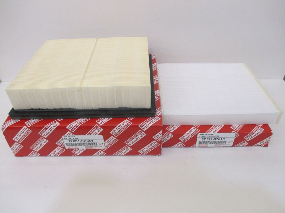 Lexus oem factory cabin filter and air filter set 2010 for 2015 lexus rx 350 cabin air filter