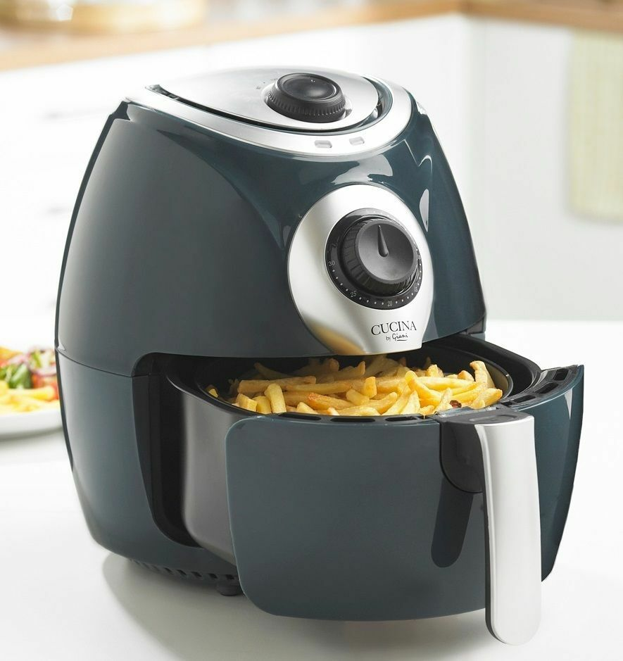 New Air Cooker ~ New cucina by giani grey air fryer non stick low fat