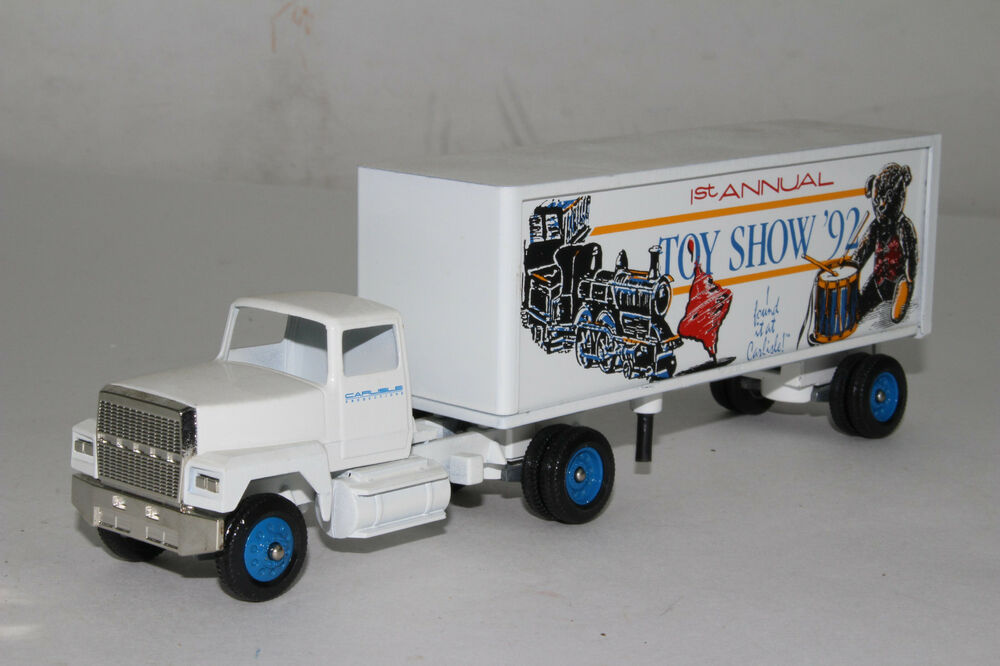 Toy Tractor Trailer Trucks : Winross diecast carlisle st annual toy show tractor