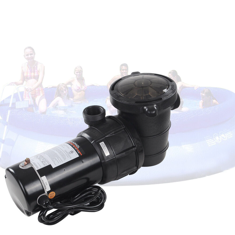1 5 Hp Swimming Pool Spa Water Pump 115 Volt Outdoor Above