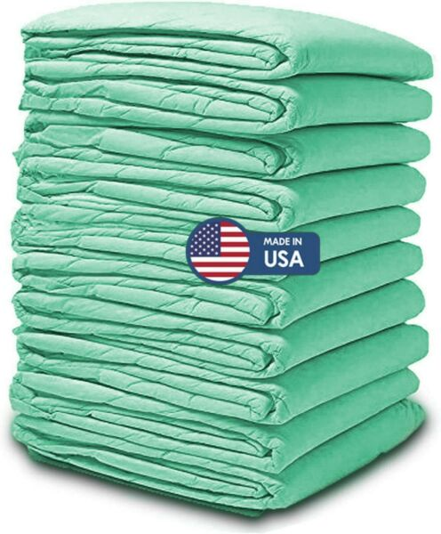 100 Disposable Incontinence Underpads for Bed 30x36 Bulk Quilted Thick Pee Pads