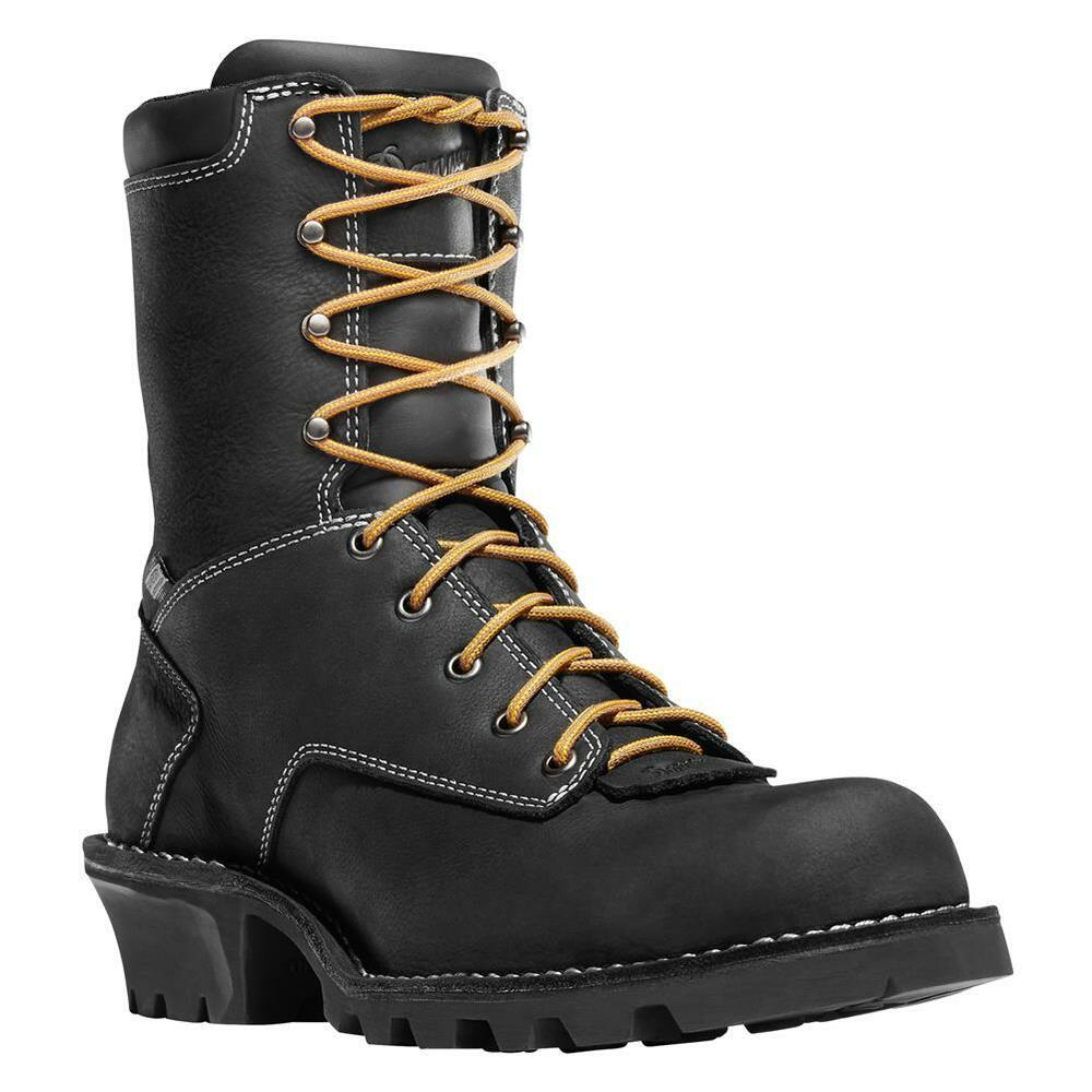 Danner Men S 8 Quot Logger Black Boots 15431 Work Occupational