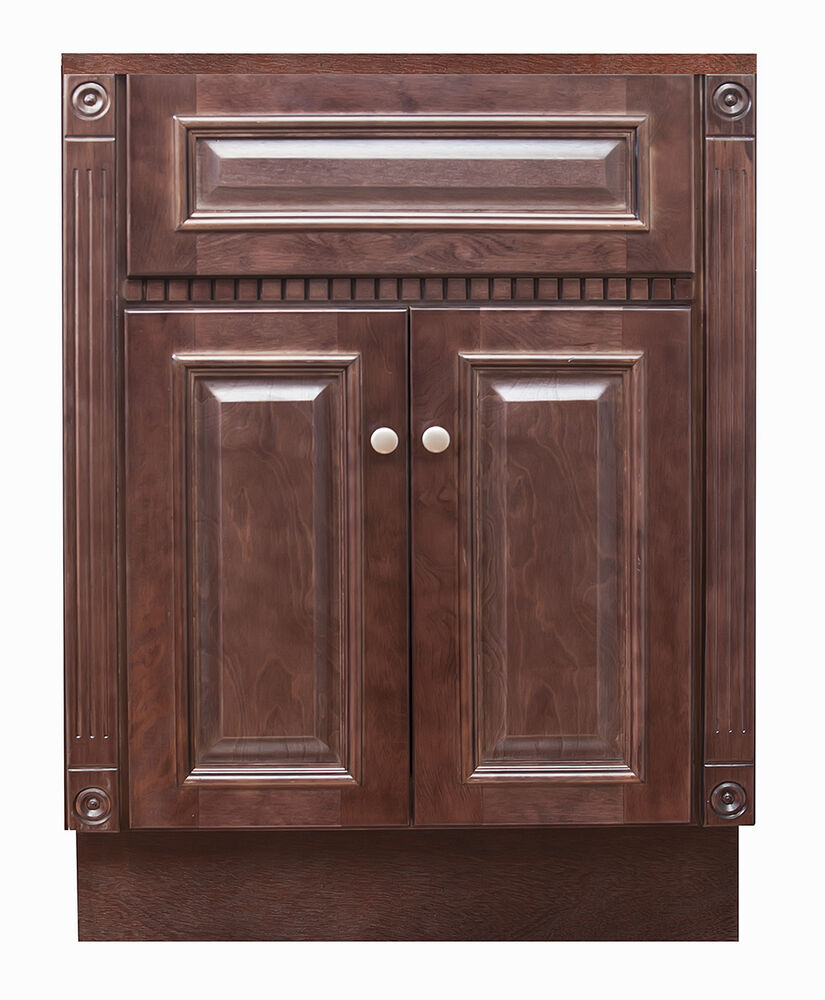 24 X 18 Cherry Bathroom Vanity Ebay