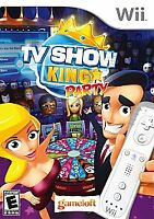 Nintendo Wii Game TV SHOW KING PARTY