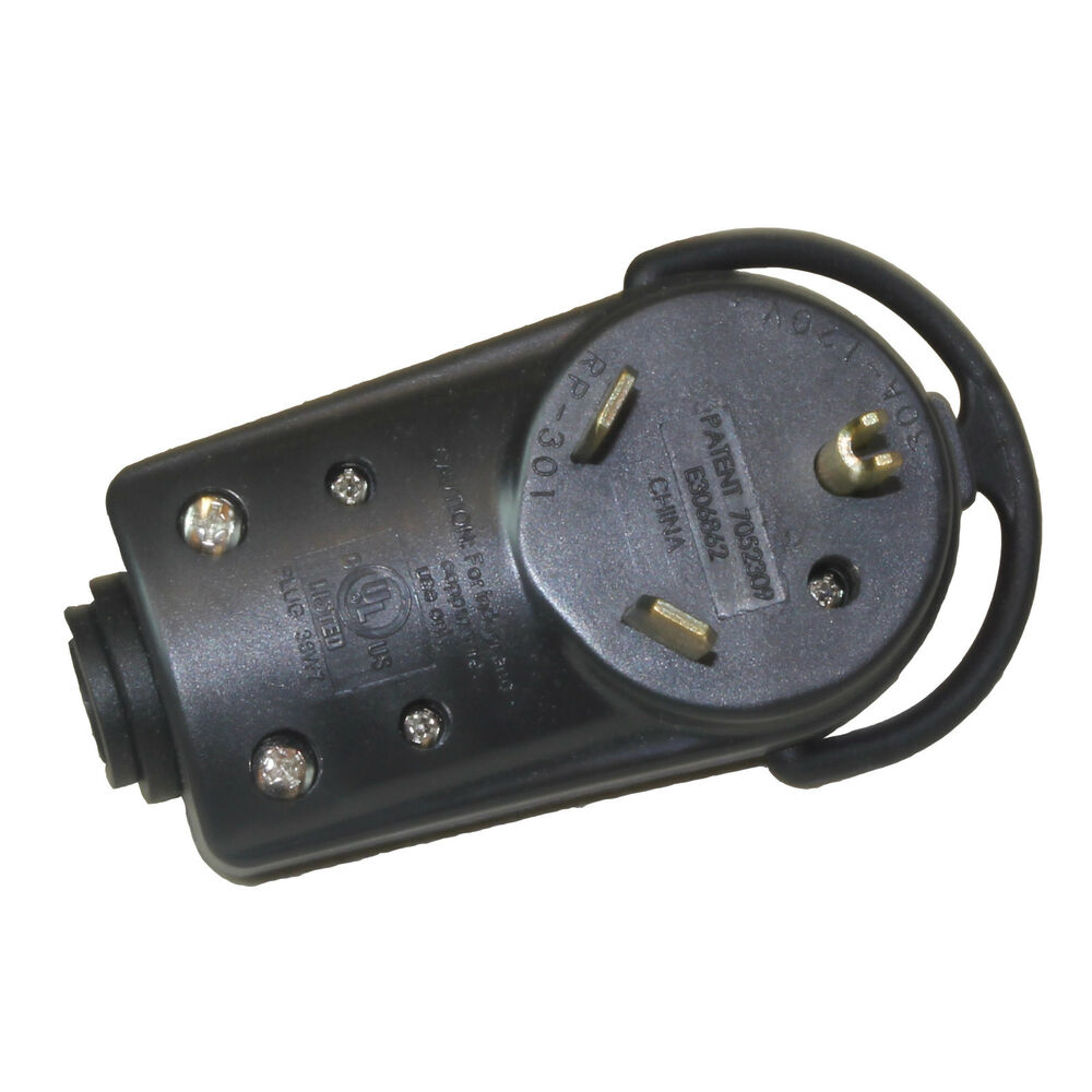 Parkworld 691609 Rv 30 Amp Male Power Assembly Replacement