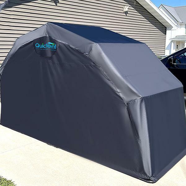 Quictent 174 Heavy Duty Motorcycle Shelter Shed Tourer Cover